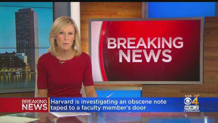 'Hateful And Obscene' Note Found Taped To Harvard Faculty Member's Door