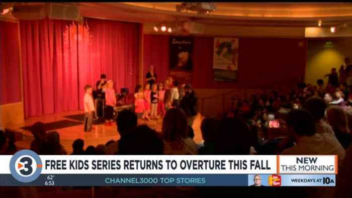Mark your calendars! Popular, free kids' series returns to Overture