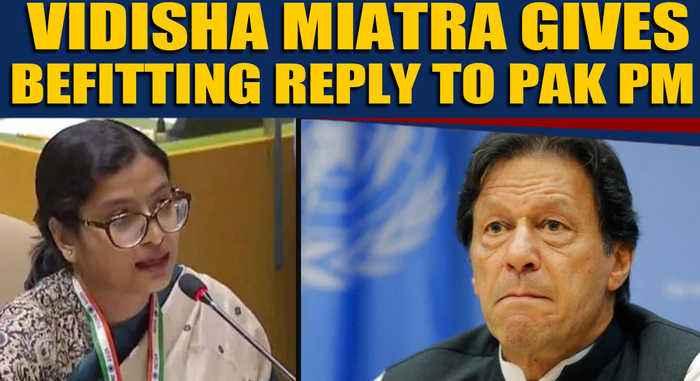 Vidisha Maitra gives stinging response to Pak PM Imran Khan, netizens praise her speech