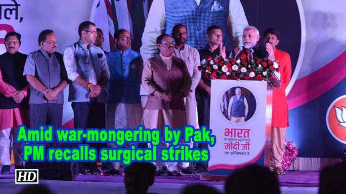 Amid war-mongering by Pak, PM recalls surgical strikes