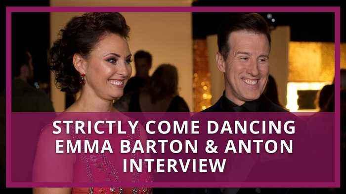 Strictly Come Dancing: Emma Barton & Anton Interview