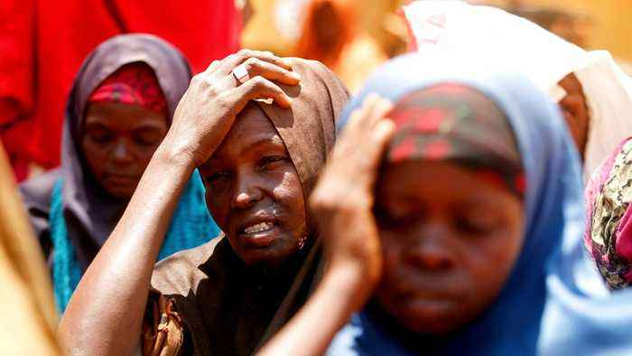 Planet SOS: Millions displaced as Somalis flee widespread drought