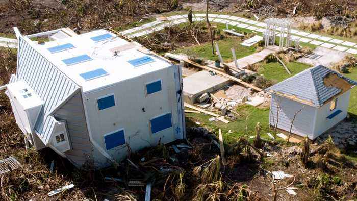 Hurricane Dorian Survivor: 'I Stay Busy. I Trust In God. That's All I Can Do.'