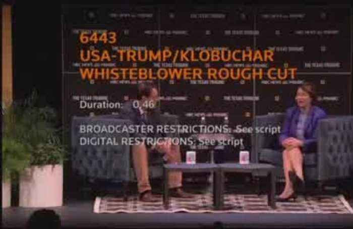 Klobuchar says whistleblower document 'smoking gun'