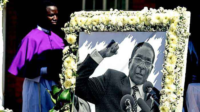Zimbabwe ex-president Robert Mugabe buried in his native village