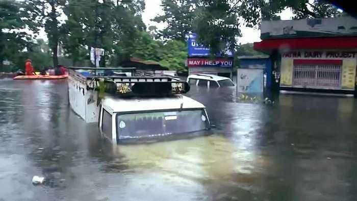 Dozens dead as heavy rains trigger floods in India