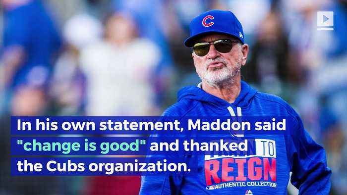 Chicago Cubs Let Go of Manager Joe Maddon