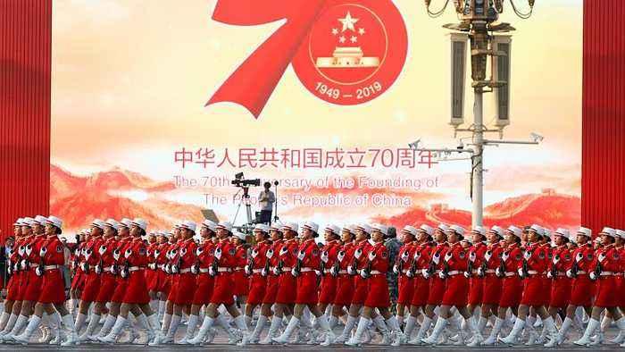 China celebrates 70 years of communist rule