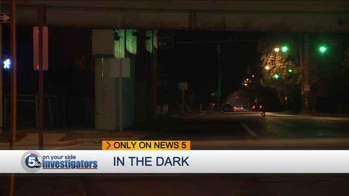 Cleveland bridge under lighting issues raise safety concerns