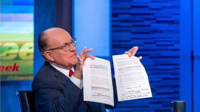 Trump's Lawyer Rudy Giuliani Subpoenaed