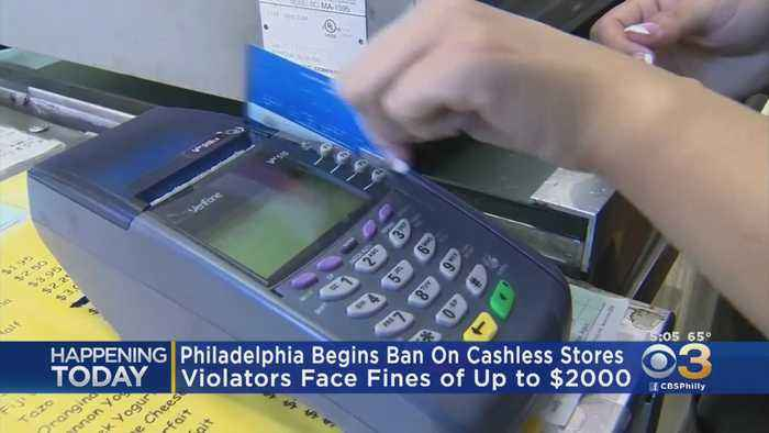 Philadelphia Begins Ban On Cashless Stores