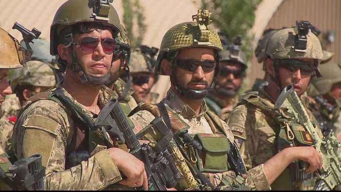 Afghan forces face heavy toll after US troop pullout