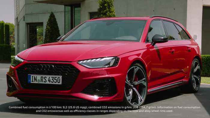 Update for the Audi RS 4 Avant Trailer