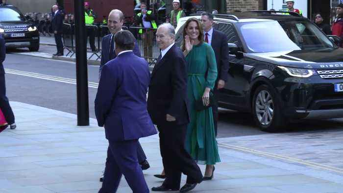 Kate and William meet Aga Khan ahead of official visit to Pakistan