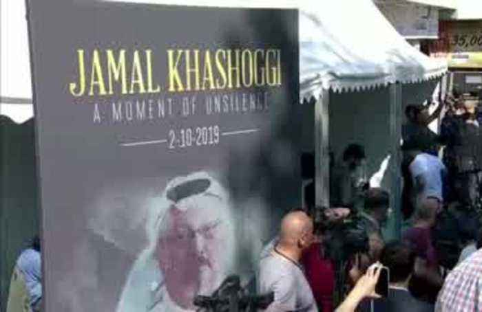 Khashoggi's fiancee awaits answers a year on