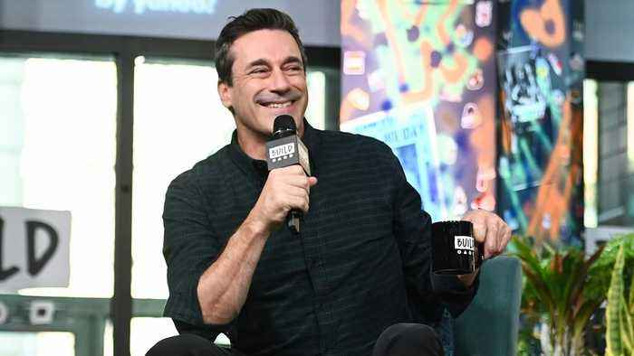 Jon Hamm Invents A New Word While Explaining The Story Of 'Lucy in the Sky'