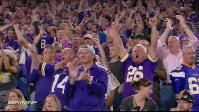 Vikings Give Fans Plenty To Cheer About