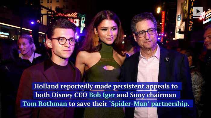 Tom Holland Helped Save 'Spider-Man' Negotiations