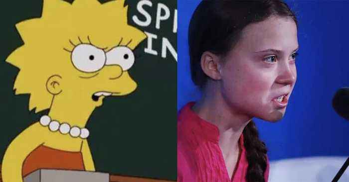 Did The Simpsons Predict Greta Thunberg's Speech At The UN Climate Summit