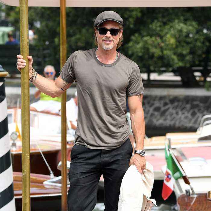 We can't get enough of the renaissance of Brad Pitt!