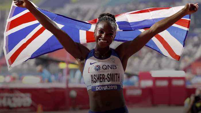 Former PE teacher pays tribute to 'humble' world champion Dina Asher-Smith
