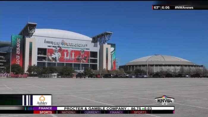KNWA 6pm Houston Live Shot