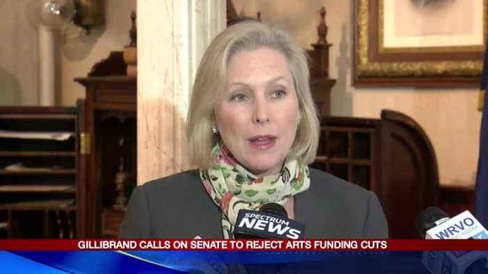 Gillibrand calls on Senate to reject arts funding cuts