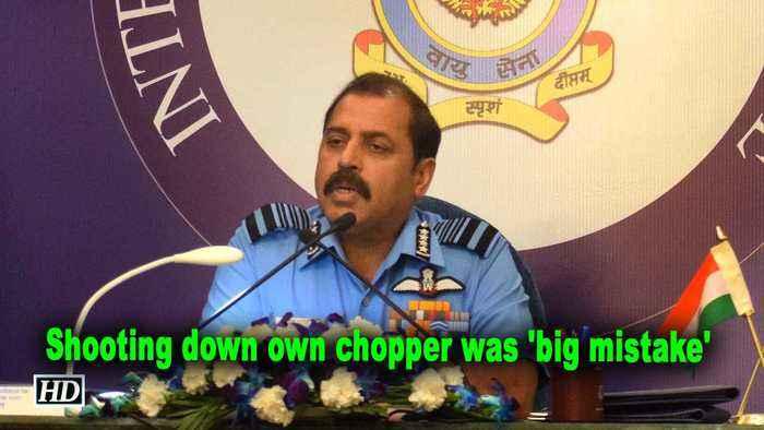 IAF boss accepts shooting down own chopper was 'big mistake'