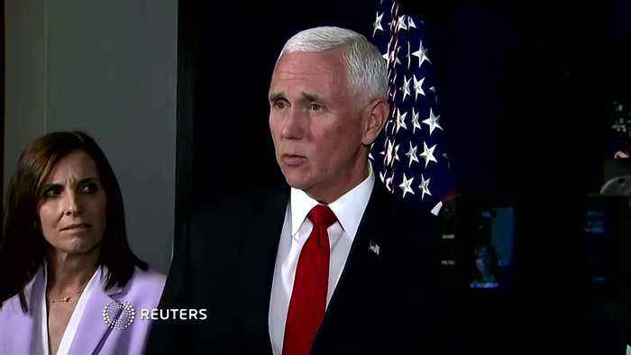 Pence defends Trump's call for foreign nations to probe Biden