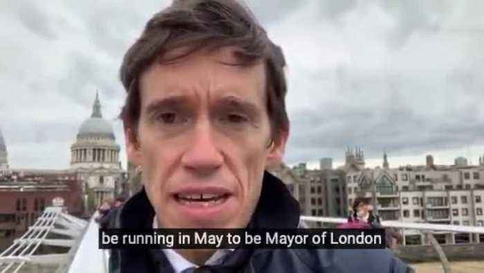 Rory Stewart to stand for London mayor as an independent candidate