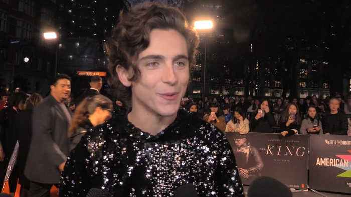 Timothée Chalamet explains why the toxicity of masculinity guided him to accept the role of Henry V