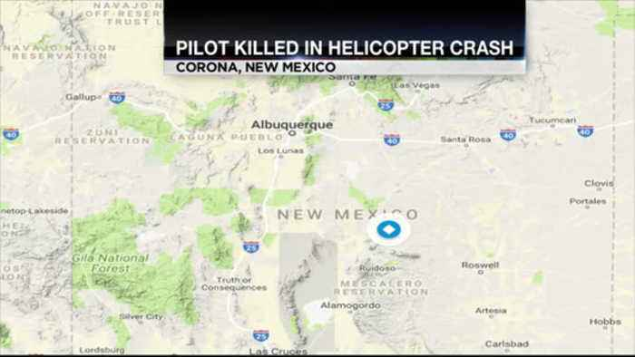 Pilot Killed In Helicopter Crash