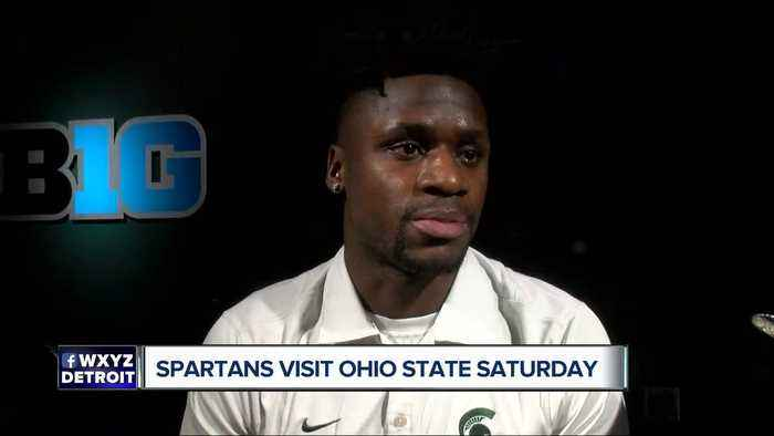 Spartans seeking upset Saturday night at Ohio State