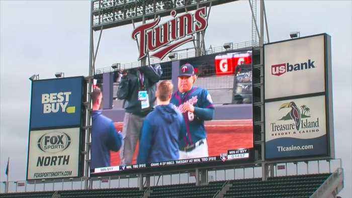 Twins Fans Pack Target Field To Watch ALDS Game 1