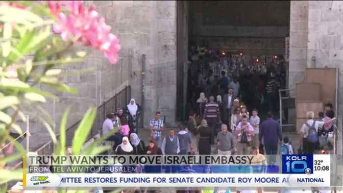 Trump Calling to Move U.S. Embassy in Israel