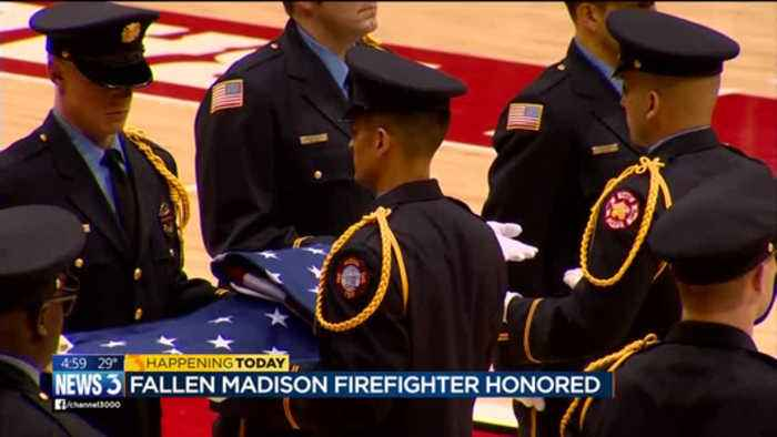 Community mourns Madison firefighter
