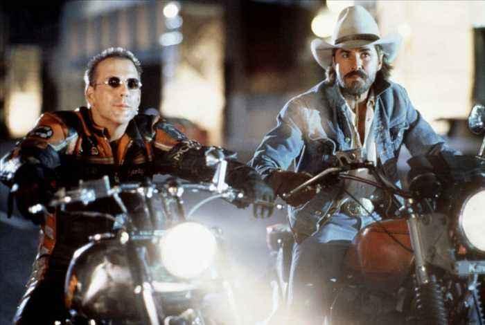 Harley Davidson and the Marlboro Man Movie (1991) - Mickey Rourke, Don Johnson, Chelsea Field
