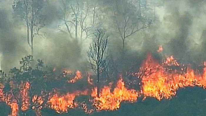 Bushfires threaten farmers in parts of Australia