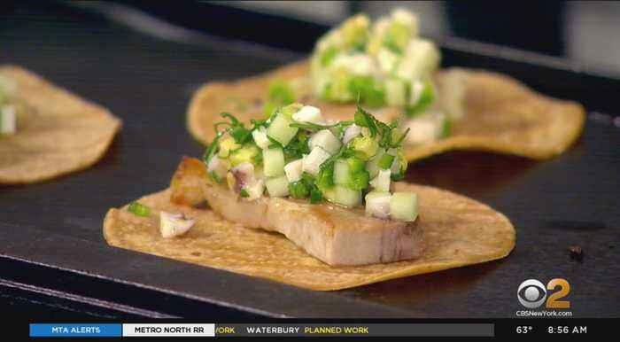 Cooking Segment: Pork Belly & Octopus Tacos