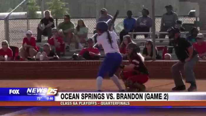 High School Softball: Ocean Springs vs. Brandon