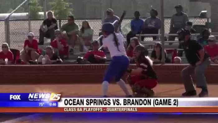 High School Softball: Ocean Springs vs. Brandon