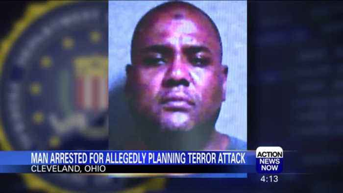 Man arrested for planning terror attack in Cleveland