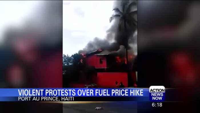 Violent protests over fuel price hike