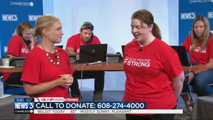 #sunprairiestrong telethon volunteer reflects on loss of Capt. Cory Barr