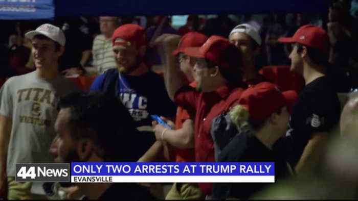 Fight After Trump Rally Results in Two Arrests