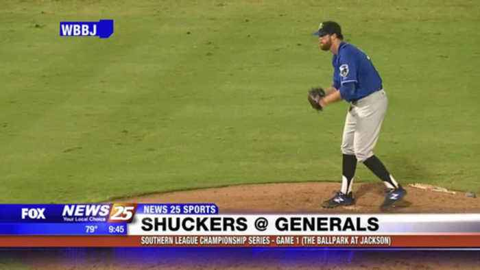 Southern League Championship Series: Shuckers at Generals