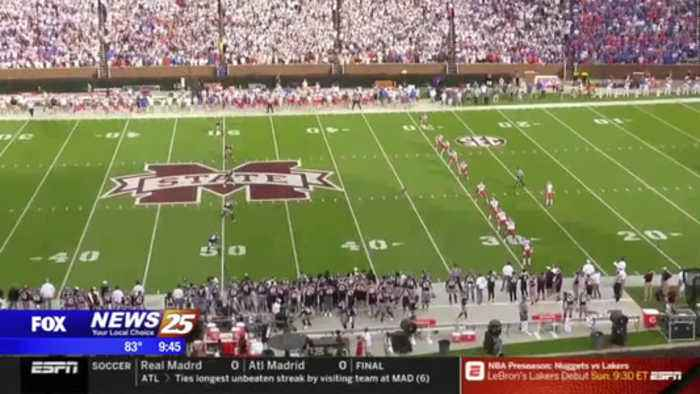 Mississippi State off to 0-2 start in SEC play