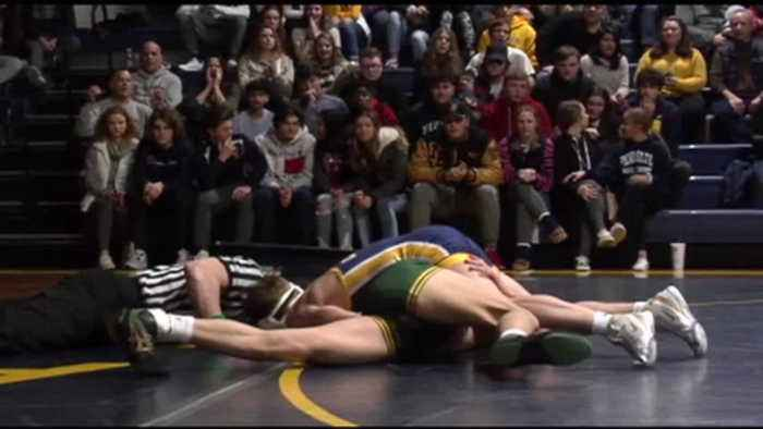 NDGP vs. St. Edward (Oh.) Wrestling Highlights