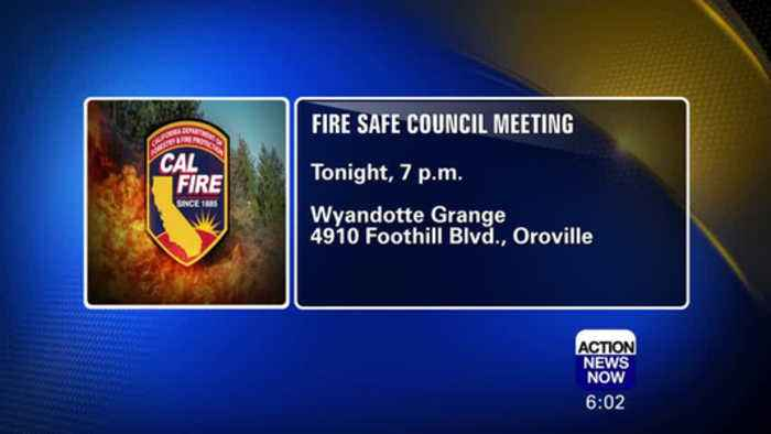 Butte County Fire Safe Council Meeting