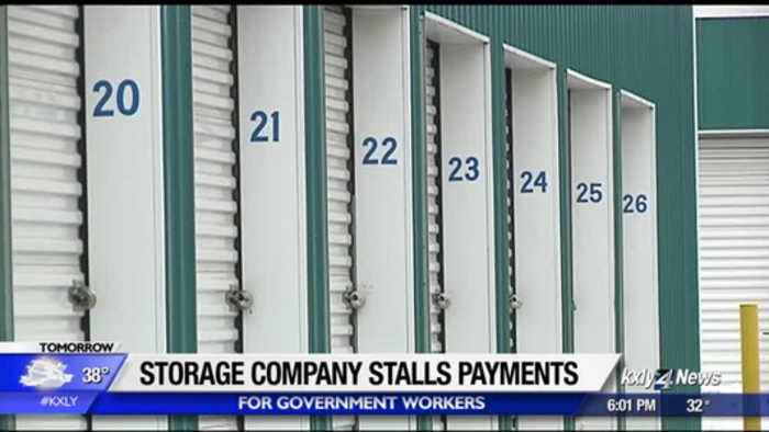 Storage company stalls payments for federal workers